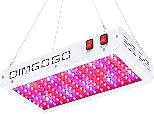 Dimgogo Triple Chips Full Spectrum Grow Lights 1000W